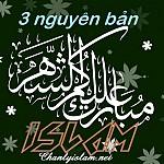 BA NGUYÊN BẢN CHÍNH CỦA TÔN GIÁO ISLAM