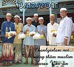 VÀI THÔNG TIN CỘNG ĐỒNG MUSLIM VN NHÂN DỊP ĐẦU NĂM 2013