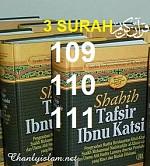 SỰ DIỂN GIẢI (TAFSIR) BA SURAH 109-110-111 CỦA THIÊN KINH QUR'AN