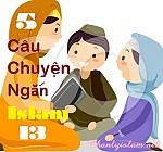 5 CÂU CHUYỆN NGẮN ISLAM (Phần 13)
