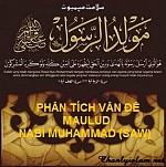 PHÂN TÍCH  VỀ VIỆC TỔ CHỨC ĂN MỪNG SINH NHẬT (MAWLUD) THIÊN SỨ MUHAMMAD (SAW)