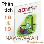 BÀI VIẾT VÀ AUDIO: PHÂN TÍCH HADITH SỐ 18 VÀ 19 CỦA 40 HADITH NAWAWIYAH