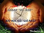 """SURAH """"AL-ASR"""" - BÀI HỌC ĐẮT GIÁ NHẤT"""