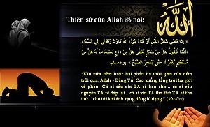 AI CẦU XIN ALLAH SẼ BAN CHO