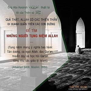 NHỮNG NGƯỜI TỤNG NIỆM ALLAH