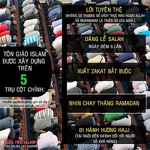 5 TRỤ CỘT ISLAM