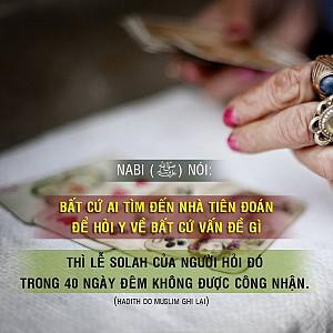 LỄ SALAH KHÔNG ĐƯỢC CHẤP NHẬN 40 NGÀY NẾU...