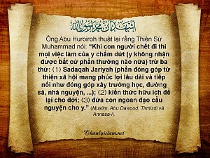 Thiên s? Muhammad (saw) noi: