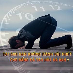 DANH VAI PHUT CHO ALLAH