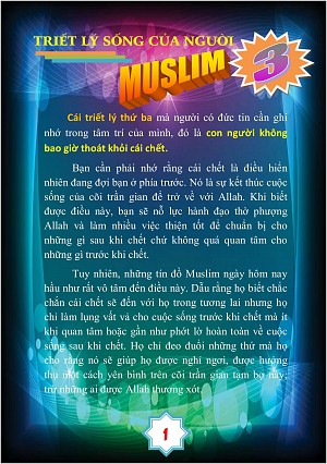 TRIET LY SONG CUA NGUOI MUSLIM 3A