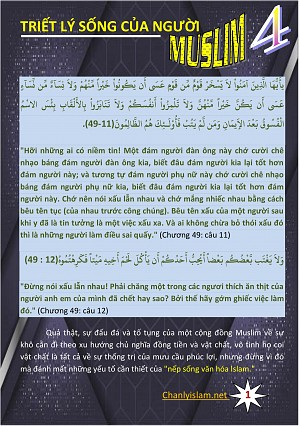 TRIET LY SONG CUA NGUOI MUSLIM 4A