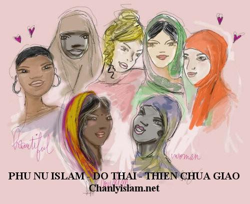 PHỤ NỮ ISLAM VÀ PHỤ NỮ DO THÁI - THIÊN CHÚA GIÁO