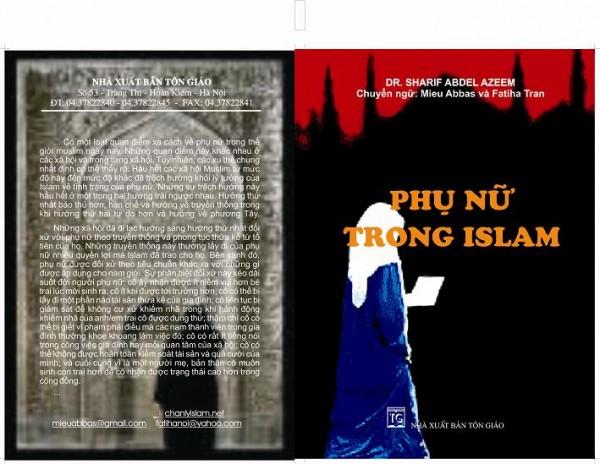 GIỚI THIỆU ĐÃ XUẤT BẢN HAI QUYỂN SÁCH: TINH THẦN ISLAM VÀ PHỤ NỮ TRONG ISLAM