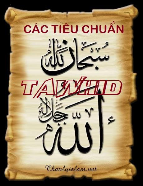 CÁC TIÊU CHUẨN TAWHID CẦN BIẾT ĐỐI VỚI MỖI TÍN ĐỒ MUSLIM