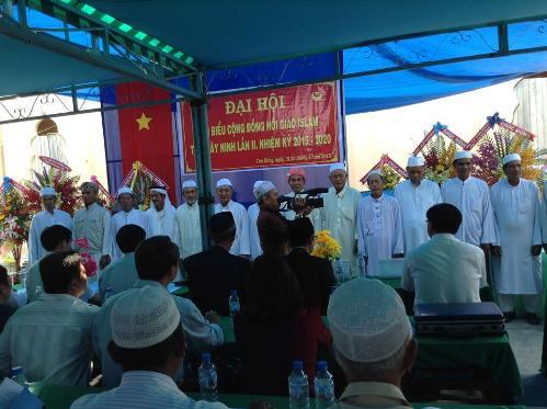 Cộng đồng Islam tỉnh Tây Ninh tiến hành Đại hội đại biểu lần thứ 2, nhiệm kỳ 2015-2020