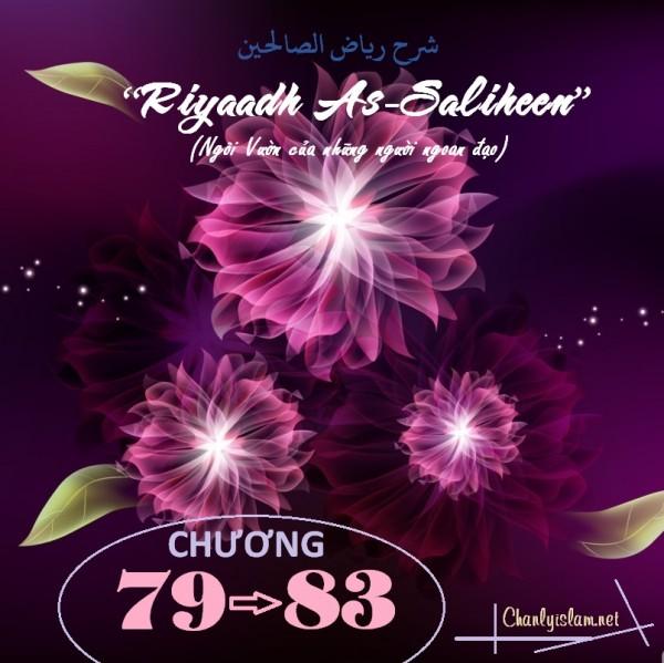 """BÀI VIẾT VÀ THUYẾT GIẢNG AUDIO: """"RIYAADH AS-SALIHEEN"""" (NGÔI VƯỜN CỦA NHỮNG NGƯỜI NGOAN ĐẠO) CHƯƠNG 79 ĐẾN 83"""