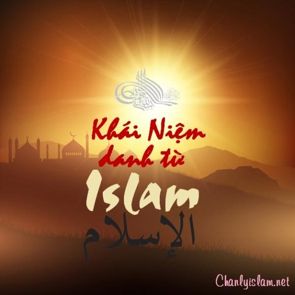 """BÀI VIẾT VÀ THUYẾT GIẢNG AUDIO: """"KHÁI NIỆM CHO ĐÚNG Ý NGHĨA DANH TỪ ISLAM"""""""