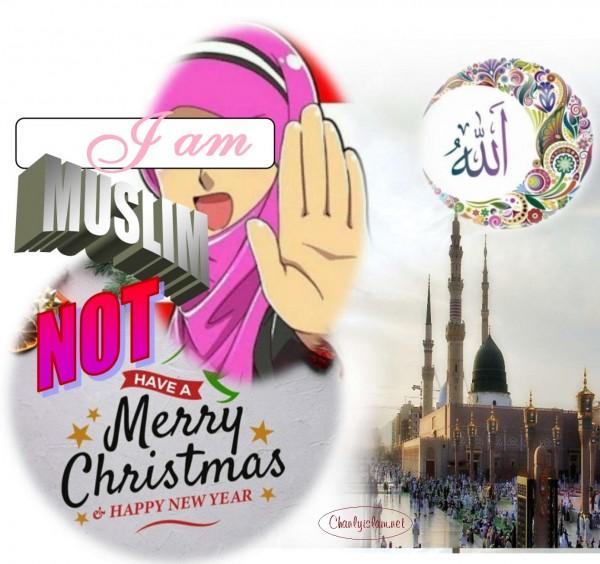 GIÁO LUẬT ISLAM:  «NGƯỜI MUSLIM KHÔNG NÊN THAM GIA NGÀY LỄ GIÁNG SINH & TẾT DƯƠNG LỊCH CỦA NGƯỜI NGOẠI ĐẠO»