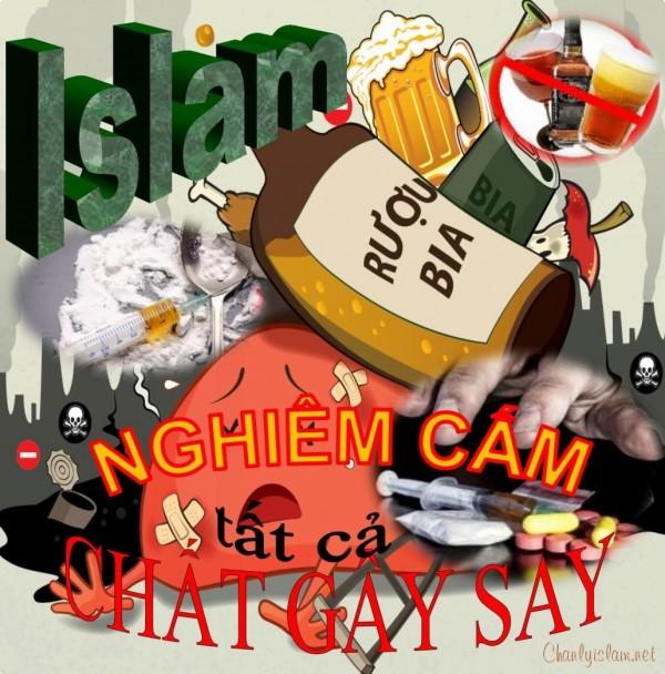 """BÀI VIẾT VÀ THUYẾT GIẢNG AUDIO: """"ISLAM NGHIÊM CẤM TẤT CẢ NHỮNG CHẤT GÂY SAY"""""""