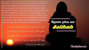 NGƯỜI PHỤ NỮ SOLIHAH
