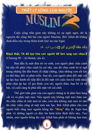 TRIET LY SONG CUA NGUOI MUSLIM 2A