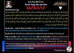 HADITH SỰ ĐA DẠNG CỦA VIỆC LÀM SADAQOH TRONG ISLAM