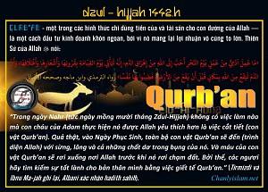 DZUL HIJJAH - QURBAN SỰ ĐẦU TƯ CÓ LỢI
